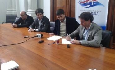 Funcionarios de Nación y Provincia en Olavarría