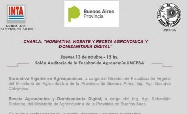 Normativa vigente y receta agronómica y domisanitaria digital