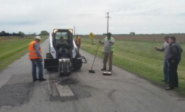 Azul: trabajos de mejoras en la Ruta 80