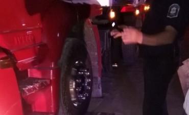 Se detectó un camión con casi 20 mil kilos de sobrecarga