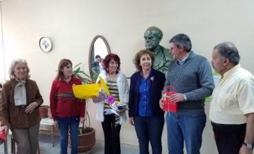 Inauguraron el restaurado busto de Sarmiento del Ex Colegio Nacional