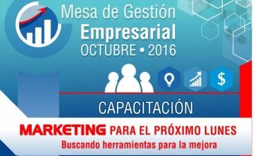 Mesa de Gestión Empresarial: capacitación en Marketing