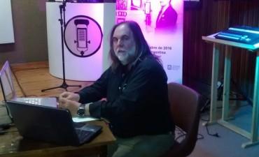 Docente de Sociales participó en jornadas de historia de la radio en San Luis