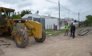 El intendente Galli recorrió el barrio de la Escuela Nº 6