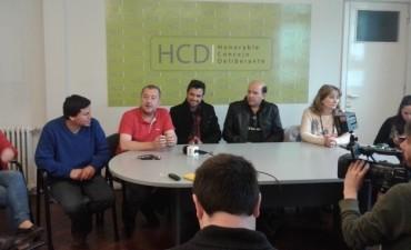 Concejales expresaron su apoyo a trabajadores de Cerro Negro