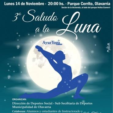 Con la luna llena de noviembre se realizará el tradicional saludo