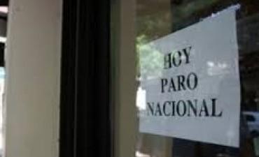 Bancarios van al paro este viernes por reapertura de paritarias