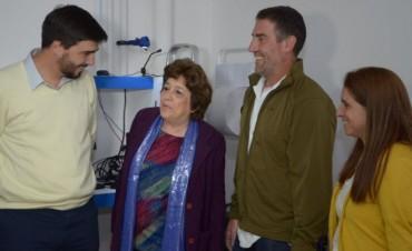 Hospital de Oncología: inauguran el SUM  y proyectan más obras