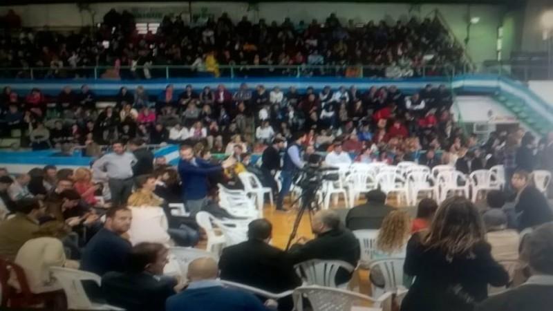 La previa de la visita a Olavarría de Macri y Vidal