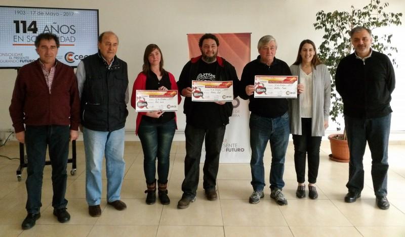 El CECO entregó los mayores premios del mes del empleado de comercio