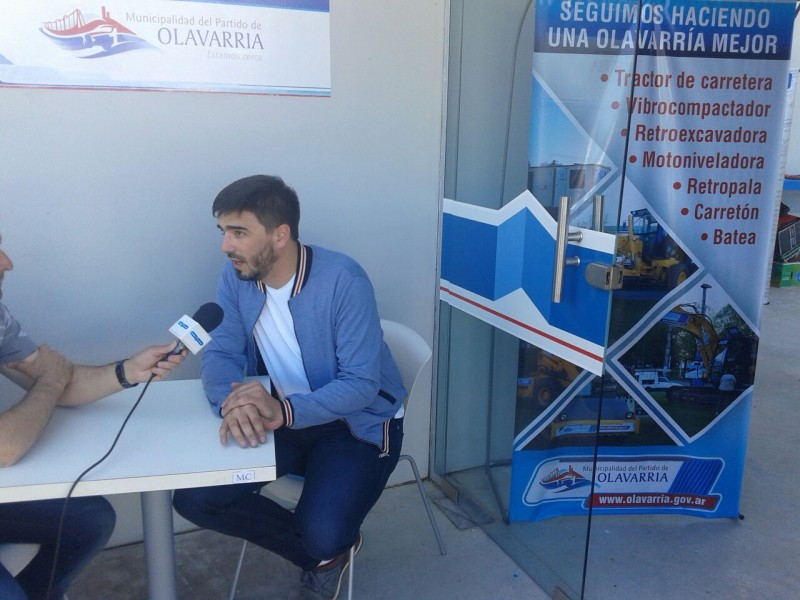 El Ministro de Agroindustria en Olavarría