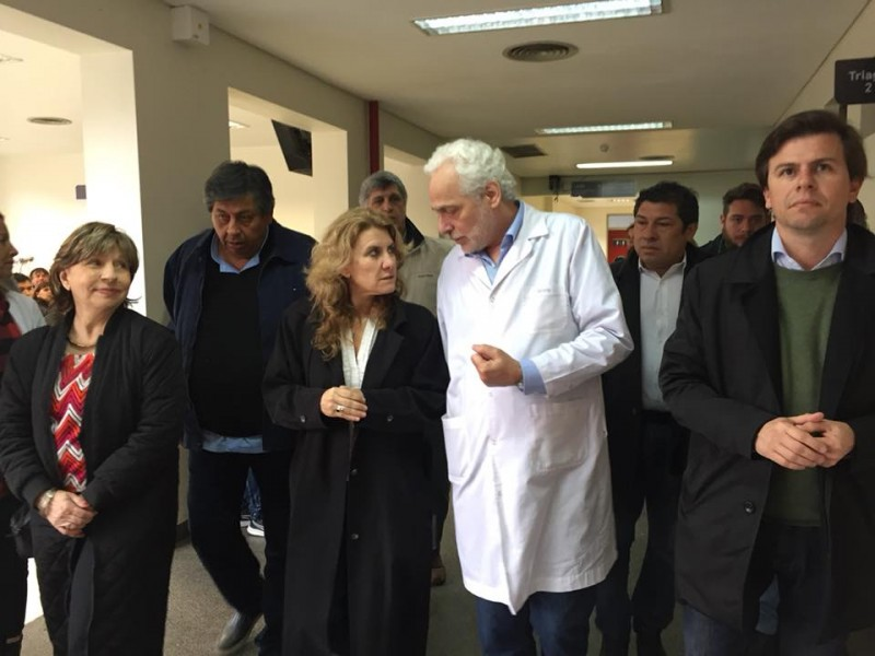 Día de la Sanidad: Lordén recorrió hospitales del Conurbano Bonaerense
