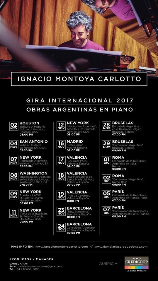 'El repertorio es una mixtura entre canciones argentinas y otras de composición propia'