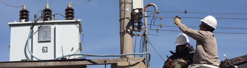 Parte de Sierra Chica sin energía electrica este viernes