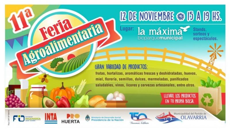 Feria Agroalimentaria: convocatoria a productores locales