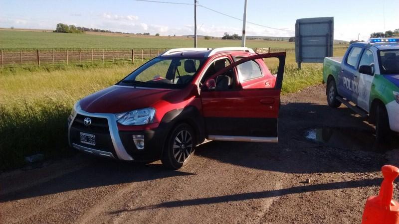 Dos chicos intentaron robar un auto