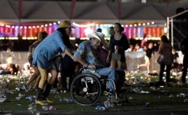 Otra vez EEUU: tiroteo en Las Vegas deja al menos 20 muertos y 100 heridos