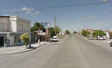 Nuevo semáforo en Pellegrini y Necochea