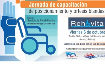 Jornadas de capacitación en sistemas de rehabilitación