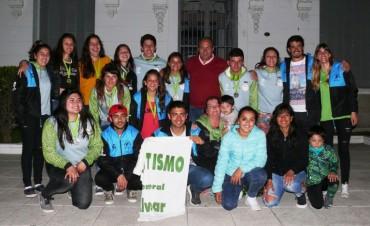 Alvear: El Intendente interino recibió a la delegación que participó de los Juegos Bonaerenses