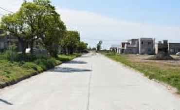 Alvear: Finalizaron los trabajos de pavimento en calle Hernández