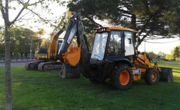 Nueva maquinaria para caminos rurales