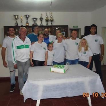 El club Villa Mi Serranía festejó sus bodas de Oro.