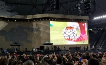 'Es histórico que una banda emita un partido de fútbol'