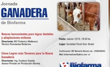 Alvear: Invitación Jornada Ganadera de Biofarma