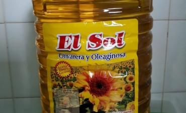 Bromatología: retiro de mercado de aceite de girasol