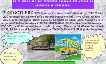 Sierra Chica recibe a docentes de todo el país