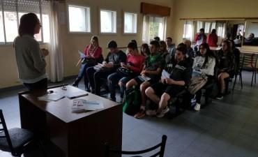 """""""Educar para el empleo"""": charlas en las localidades"""
