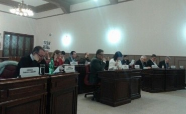 Sesionó el Concejo Deliberante con expedientes aprobados por unanimidad