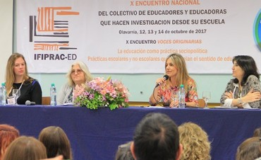 Abrieron el Congreso Nacional de Educadores en Olavarría