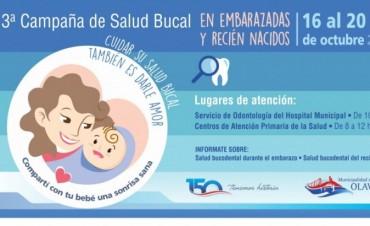Campaña 'Compartí con tu bebé una sonrisa sana'