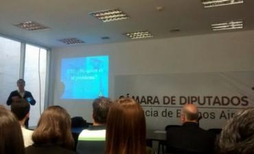 Funcionarios municipales en el encuentro sobre Radiaciones No Ionizantes