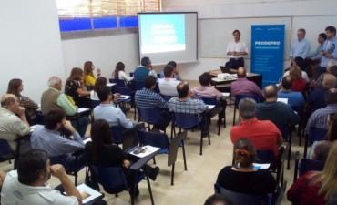 Municipio y Nación trabajan en el desarrollo productivo y competitivo empresarial