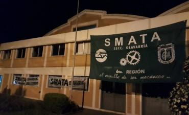 SMATA se moviliza y reclama por los trabajadores de CIDEGAS