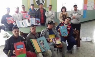 Nuevas donaciones del taller de Braille de la Unidad N° 2