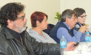 Plenario regional de trabajadores municipales de la Provincia en Olavarría