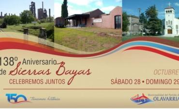 Fin de semana de festejos por el 138º Aniversario de Sierras Bayas