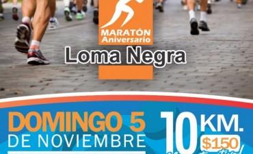 Fundación Loma Negra organiza la 4ta. maratón aniversario