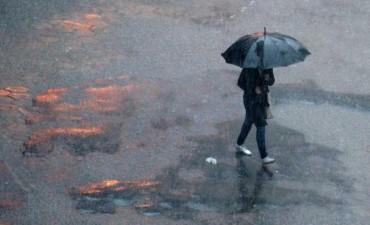 Registros de lluvia de este jueves