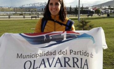 Natación adaptada: Moura compite en Ushuaia
