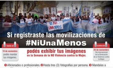 Se extiende la convocatoria para exponer fotografías de #NiUnaMenos