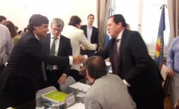 Presupuesto Provincial: Vitale participó de la primera reunión con el Ministro Lacunza