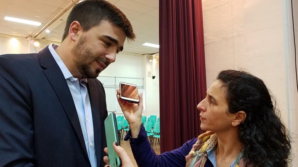 Galli habló de Sierra Chica, de las obras en el Hospital y de la interna radical