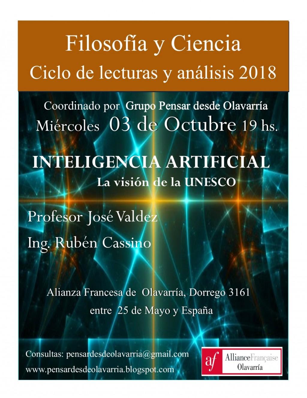 Ciclo de lecturas y análisis de Ciencia y Filosofía