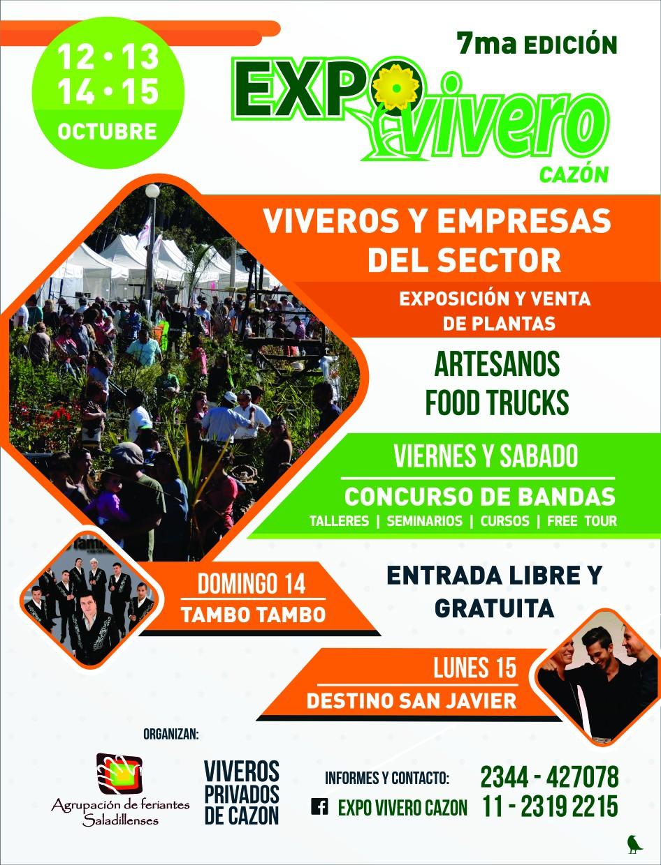 Cazón: Por 7mo año consecutivo llega la Expo Vivero Cazón