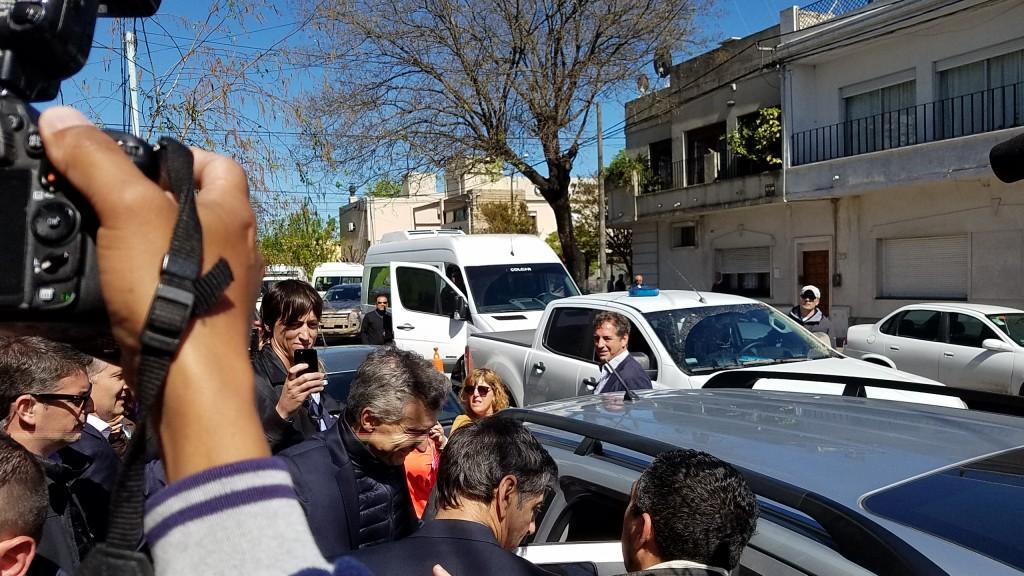 Sorpresiva visita presidencial a la Ciudad